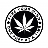 Samolepka Free your mind sticker